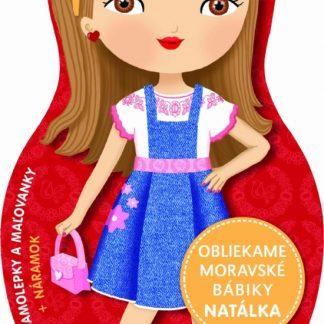Obliekame moravské bábiky - Natálka