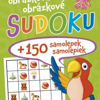 Obrázkové sudoku + 150 samolepiek ( zelený zošit )
