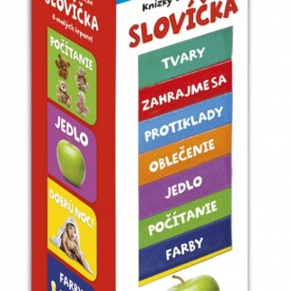 Knižky vo vežičke – Slovíčka, 2. vydanie
