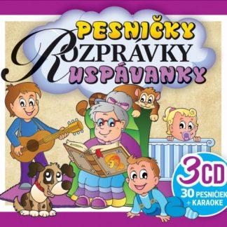 CD - 3CD BOX Pesničky, Rozprávky, Uspávanky
