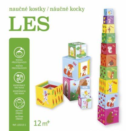 Náučné kocky - Les