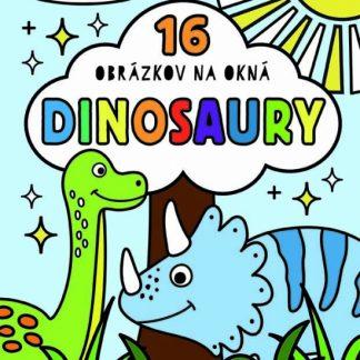 Vymaľovanky do okien / Dinosaury