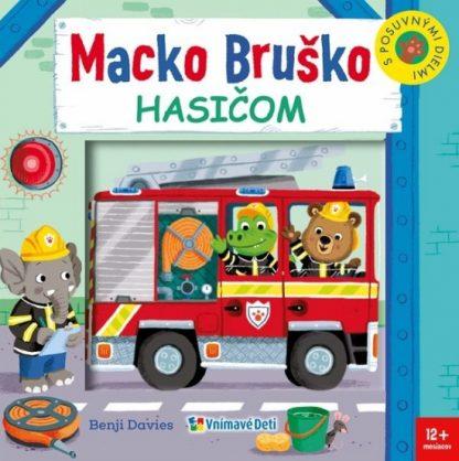 Macko Bruško hasičom