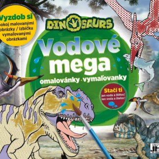 Mega vodové vymaľovanky/ Dinosaury