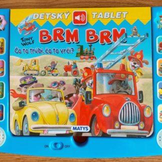Detský tablet – Brm brm