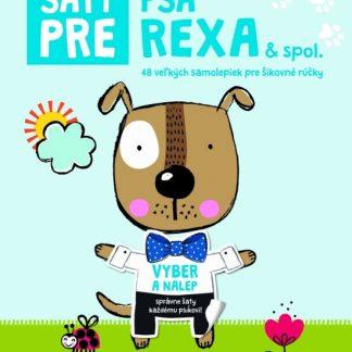 Šaty pre psa Rexa - Kniha samolepiek