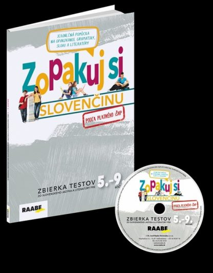 Zopakuj si slovenčinu – zbierka testov 5.-9. + CD(pre učiteľov)