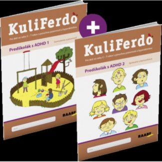 Kuliferdo – Predškolák s ADHD ( Sada )