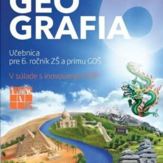 Hravá Geografia 6 učebnica