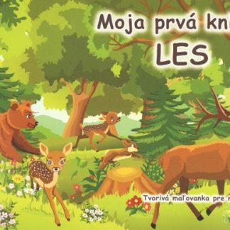 Moja prvá knižka - Les - tvorivá maľovanka pre najmenších