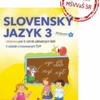 Slovenčina Nezábudka 3 učebnica