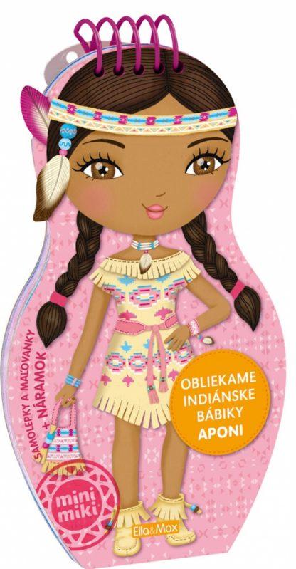 Obliekame indiánske bábiky - Aponi
