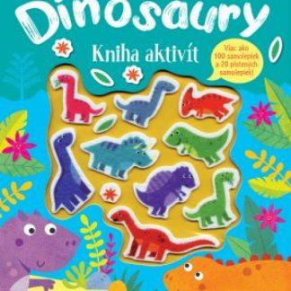 Dinosaury kniha aktivít - Plstené samolepky