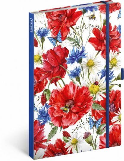 Notes - Kvety, linajkový