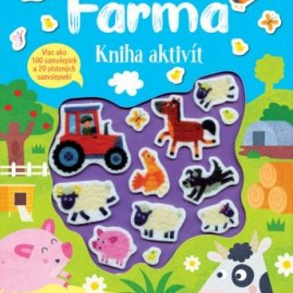 Farma kniha aktivít - Plstené samolepky