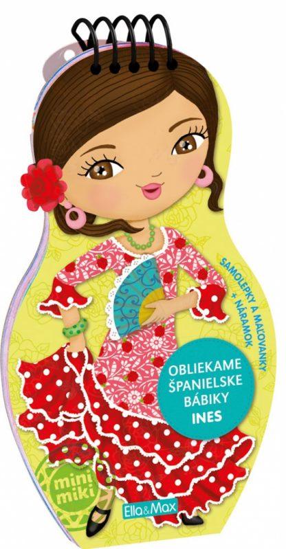 Obliekame španielske bábiky - Ines