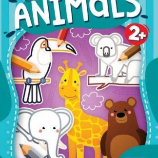 Happy Animals omaľovanka