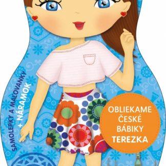 Obliekame české bábiky - Terezka