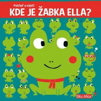 Kde je žabka Ella? - Pohľaď a nájdi!