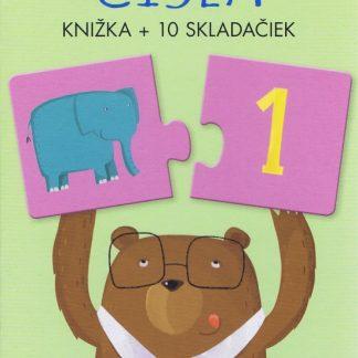 Čísla - knižka + 10 skladačiek