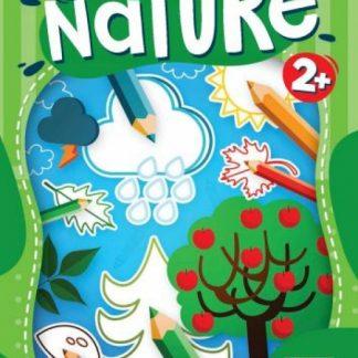 Happy Nature omaľovanka