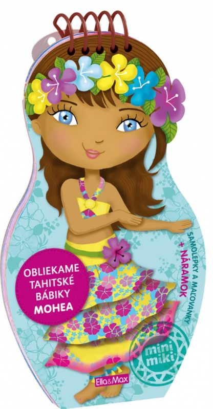 Obliekame tahitské bábiky - Mohea