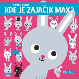 Kde je zajačik Max? - Pohľaď a nájdi!