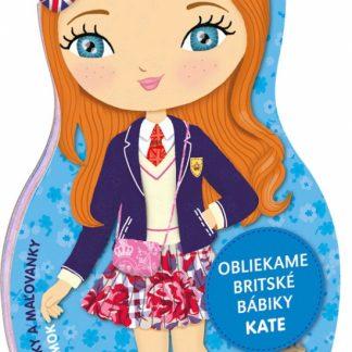 Obliekame britské bábiky - Kate