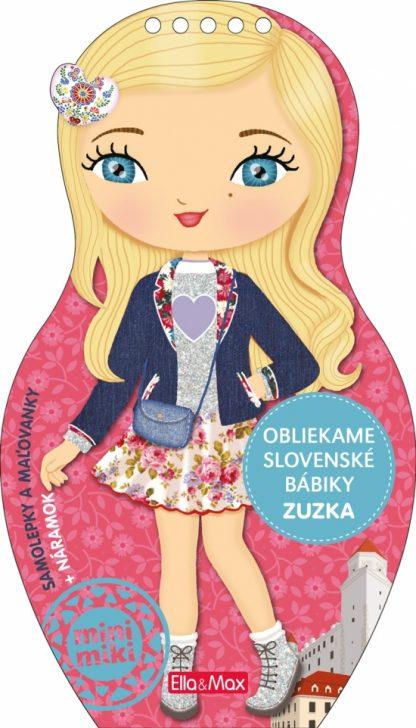 Obliekame slovenské bábiky - Zuzka