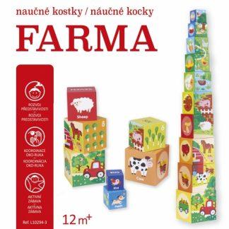 Náučné kocky - Farma