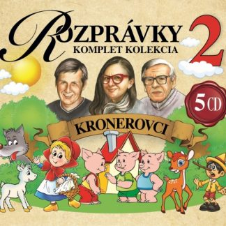 5CD BOX Rozprávky Kronerovci 2